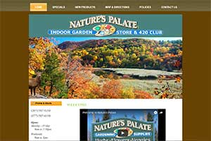 natures palate icon