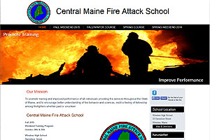 Central Maine Fire Attack School