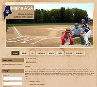 Maine ASA Softball